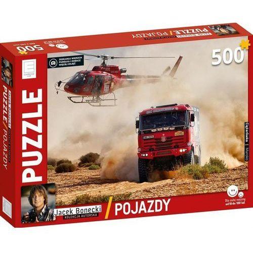 Puzzle 500 pojazdy ciężarówka kolekcja jacka boneckiego marki Edipresse książki