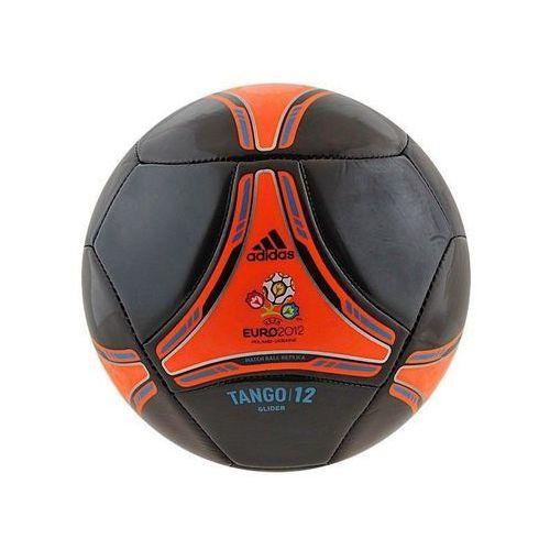 Adidas Piłka nożna  tango 12 glider 5 czarno-czerwona - czarno-czerwona ||biały ||czarny (4051932357591)