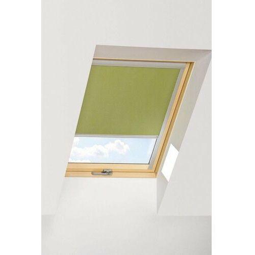 Roleta na okno dachowe FAKRO dekoracyjna ARF 78x140 zaciemniająca (264) limonkowa (5900988927304)