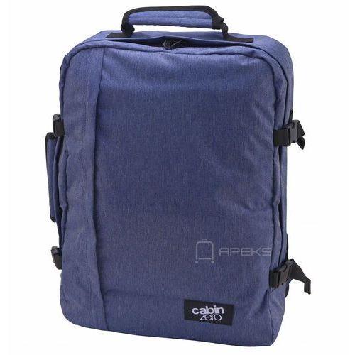classic 44l torba podróżna podręczna / kabinowa / plecak / granatowy - blue jean marki Cabinzero