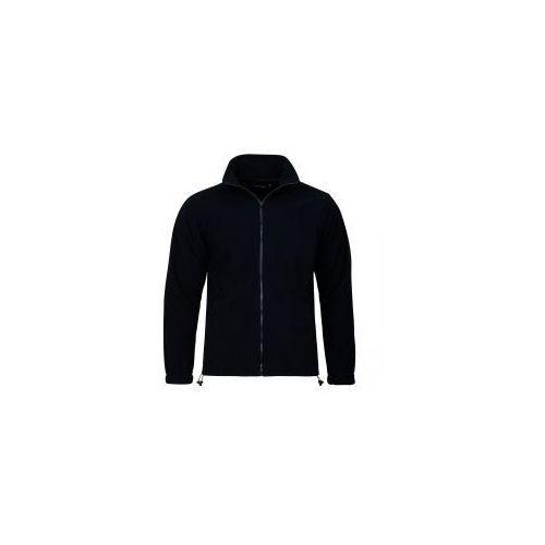 Polar męski w kolorze czarnym bluza polarowa 300g, Valento