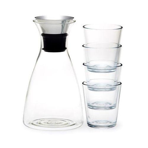 Karafka 1l z 4 szklankami marki Eva solo