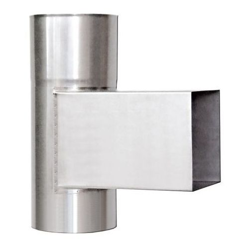 Wyczystka śr. 180 mm gr. 0,8 mm 14 x 14 cm marki Komin-flex