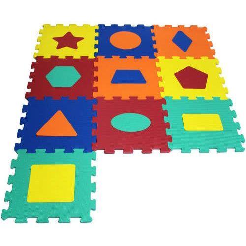 ARTYK 10 EL. Puzzle piankowe Kształty (5901811107832)