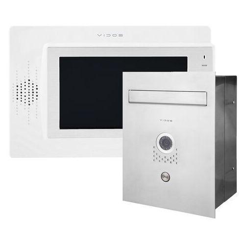 Zestaw wideodomofonu skrzynka na listy Vidos S551-SKP M320W