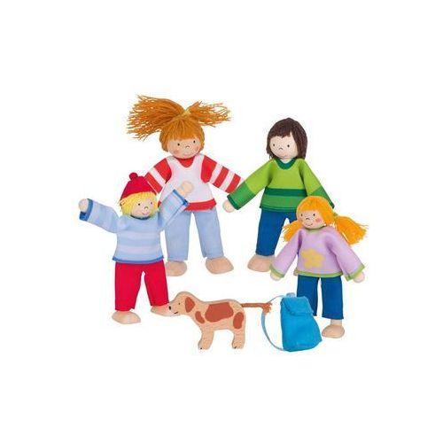 Elastyczne laleczki Rodzina na wakacjach Goki