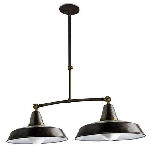 Leds c4 Lampa wisząca vintage ii postarzały brąz, 00-2011-s4-cg