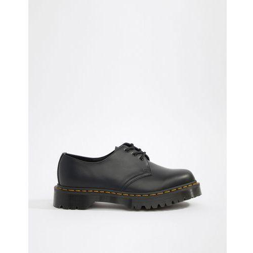 Dr martens 1461 bex platform 3-eye shoes in black - black