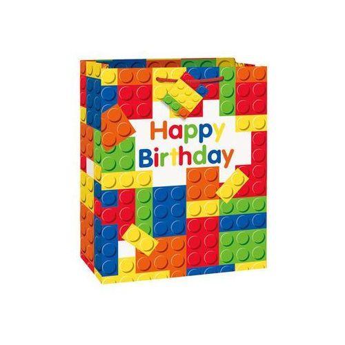 Torebka prezentowa na urodziny 27x32 cm - 1 szt. (0011179582396)