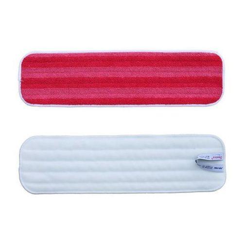 Mop rzepowy 47 cm z mikrofazy czerwony Premium Merida