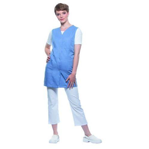 Tunika medyczna bez rękawów, rozmiar 44, szaroniebieska | , sara marki Karlowsky