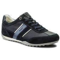 Geox Sneakersy - u wells c u52t5c 02211 c4021 dk navy