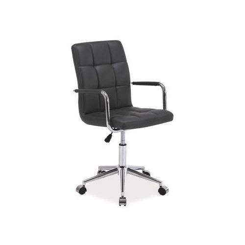 Fotel biurowy obrotowy q-022, kolor grafit, marki Signal