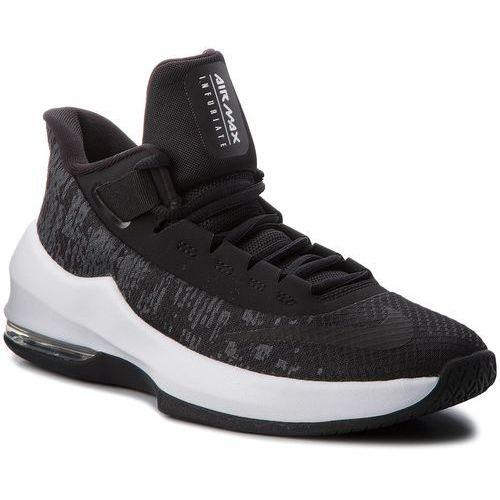 Nike Buty - air max infuriate ii gs ah3426 001 black/black/white/anthracite