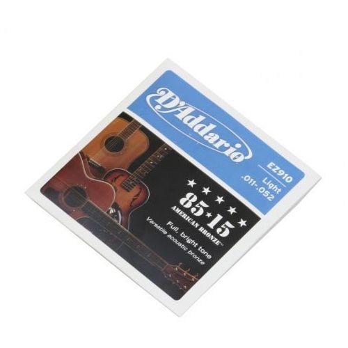 D′addario ez 910 struny do gitary akustycznej 11-52
