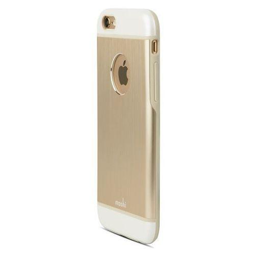 Moshi iGlaze Armour - Etui iPhone 6 z folią na obudowę w zestawie (złoty) Odbiór osobisty w ponad 40 miastach lub kurier 24h z kategorii Futerały i pokrowce do telefonów