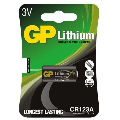 Bateria foto litowa  cr123 marki Gp