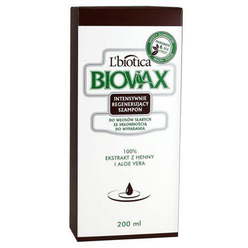 Biovax szampon do włosów słabych ze skłonnością do wypadania 200ml marki L`biotica