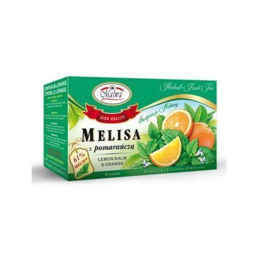 Malwa Herbata ziołowo owocowa melissa z pomarańczą ex'20 (5902781001038)