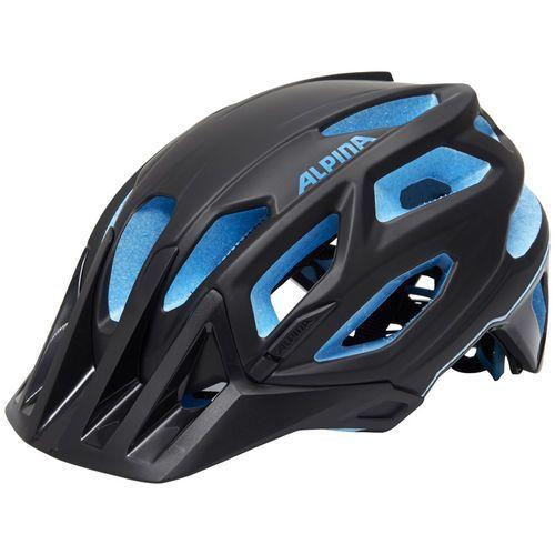 Alpina garbanzo kask rowerowy niebieski/czarny 53-57cm 2018 kaski rowerowe (4003692238702)