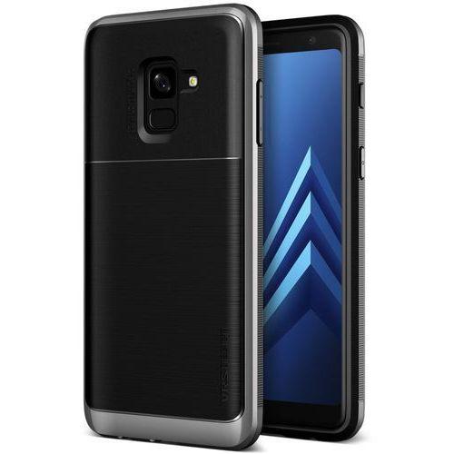 Etui VRS Design High Pro Shield Samsung Galaxy A8 2018 Steel Silver