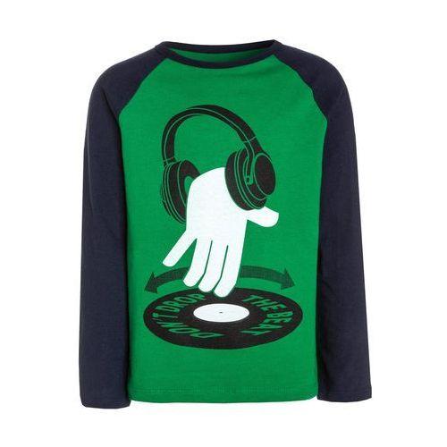 GAP RAGLAN Bluzka z długim rękawem super green, kolor zielony