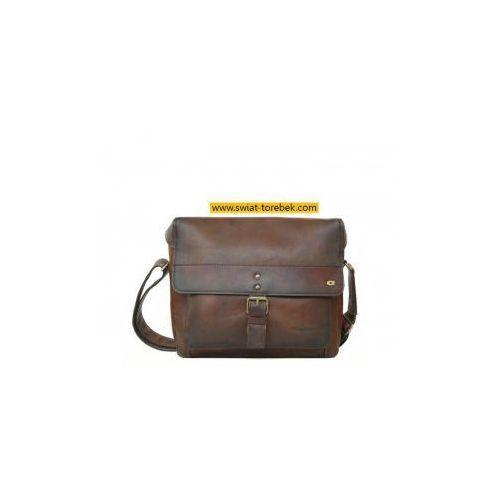 ALIVE 12 torba skóra naturalna firmy Daag na ramię z miejscem na notebook unisex, alive-12