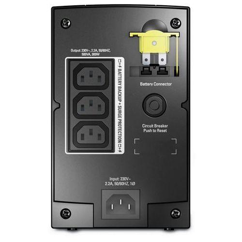 APC Back-UPS 500VA,AVR, IEC outlets, EU Medium (BX500CI), BX500CI