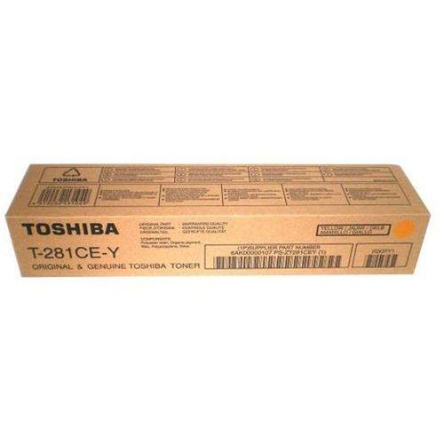 Toner Toshiba T-281CE-Y Yellow do kopiarek Toshiba (Oryginalny) [10k] (4519232112468)