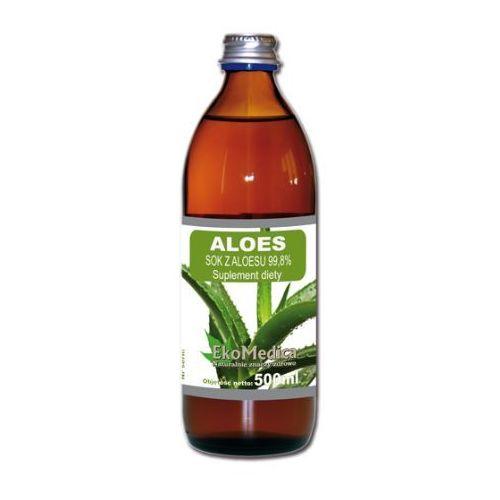 Eko medica Eka medica aloes sok z aloesu 99,8% 1000ml