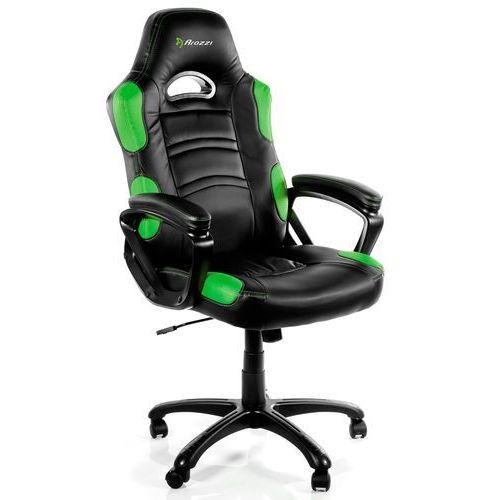 Fotel enzo czarno-zielony + darmowy transport! marki Arozzi