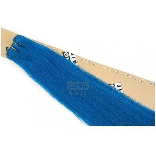 Włosy na zgrzewy syntetyczne - Kolor: #blue - 20 pasm, 8287