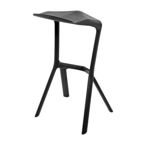 0897 stołek barowy/hoker mu czarny marki D2