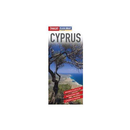 Cypr. Mapa 1:220 000, oprawa miękka