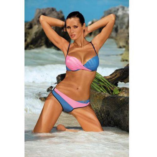 Marko Kostium kąpielowy model christina bluberry-hollywood-zaffiro m-348 blue/pink/navy