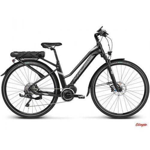 Rower  trans hybrid 5.0 w czarny/grafitowy mat 2018 marki Kross