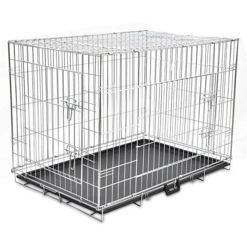 klatka dla psa metalowa składana xl marki Vidaxl