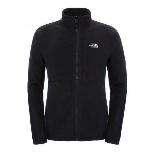 Polar SHADOW 200 FULL ZIP MEN - black, kolor czarny