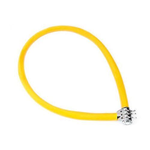 Zapięcie, linka na szyfr keeper 665 cc 6mm/65cm żółty marki Kryptonite