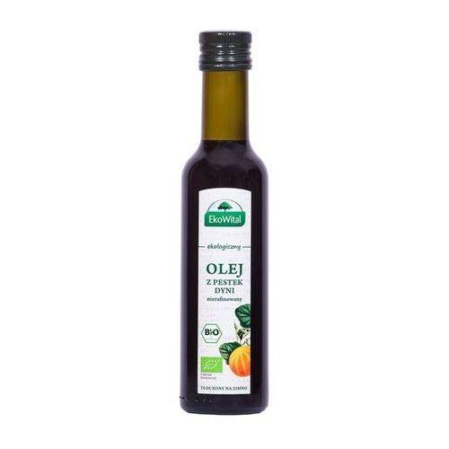 Olej z pestek dyni tłoczony na zimno bio 250 ml ekowital marki Eko-wital