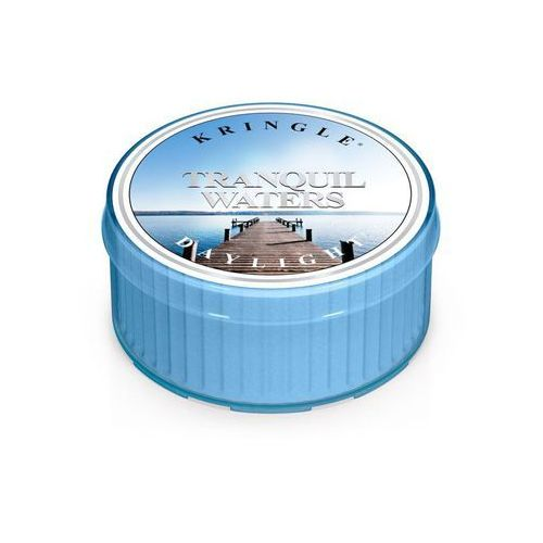 TRANQUIL WATERS mała świeca Kringle Candle SPOKOJNA WODA - Daylight 1,25oz, 35g, 1 knot