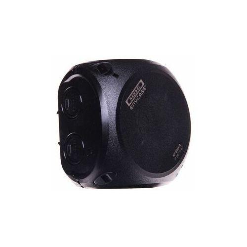 Puszka n/t odgałęźna 104x104x70mm IP66/67 czarna KF 0400 B 62000046 HENSEL (4012591121749)