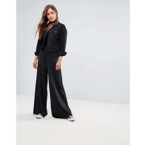 New Look Wide Leg Trousers - Black