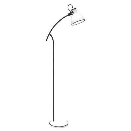 Candellux zumba 51-72108 lampa podłogowa stojąca 1x40w e14 biały / czarny (5906714872108)