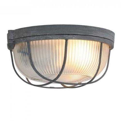 Steinhauer Mexlite Lampa Sufitowa Siwy, 1-punktowy - Klasyczny/Przemysłowy - Obszar wewnętrzny - Mexlite - Czas dostawy: od 2-3 tygodni