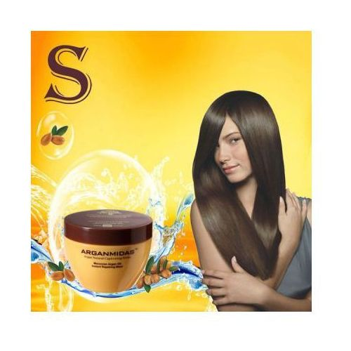 Arganmidas Arganowa maska odbudowująca włosy 300ml. Najniższe ceny, najlepsze promocje w sklepach, opinie.