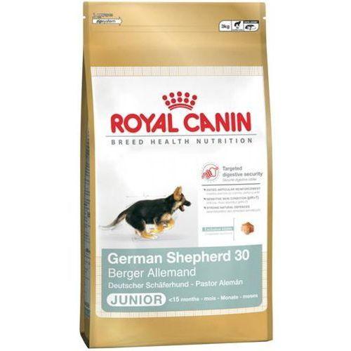 ROYAL CANIN Dog Food German Shepherd Junior 30 12kg 3182550724159 - odbiór w 2000 punktach - Salony, Paczkomaty, Stacje Orlen (3182550724159)