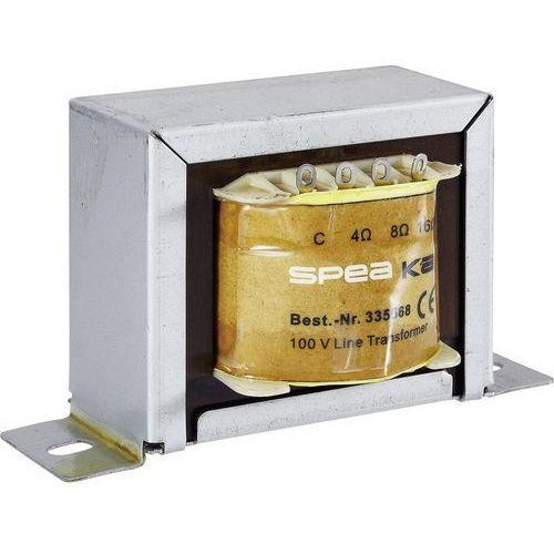 Transformator częstotliwości dźwięku Monacor PA, 50 W, 335568