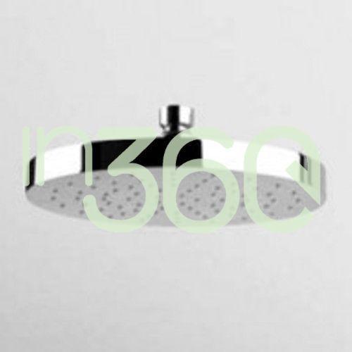 Zucchetti deszczownica mosiężna 190 mm, czarna matowa z94192.n1