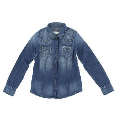 Diesel Koszula dziecięca Niebieski 10 lat, kolor niebieski